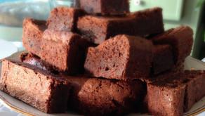 Brownie plaatkoek