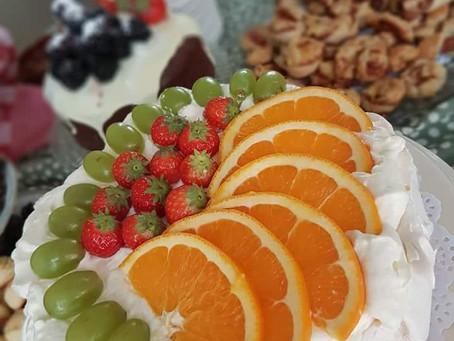 Pavlova-taart
