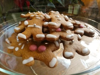 Gingerbread mannetje
