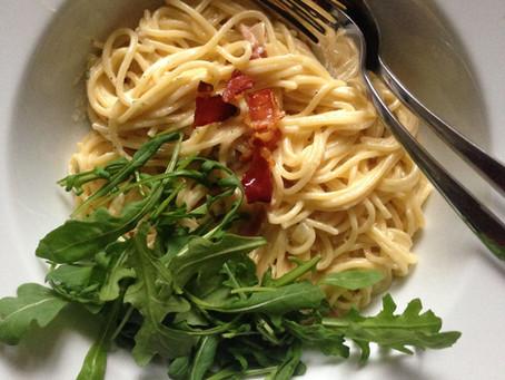 Spaghetti ham/kaas