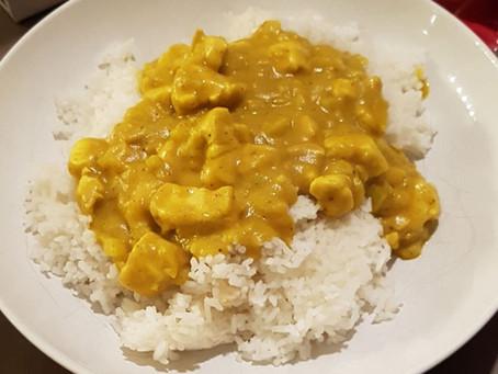 Kipkerrie met rijst (basis).