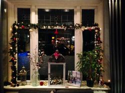 kerstfoto 2018 raamdecoratie