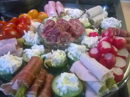 Etagère/plateau salade