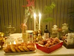 een Nieuwjaars tafel