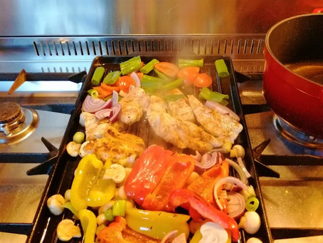 Lente grill, diner in een handomdraai.