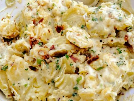 Kartoffeln salade naar recept van mijn allerliefste (Duitse) schoonzus