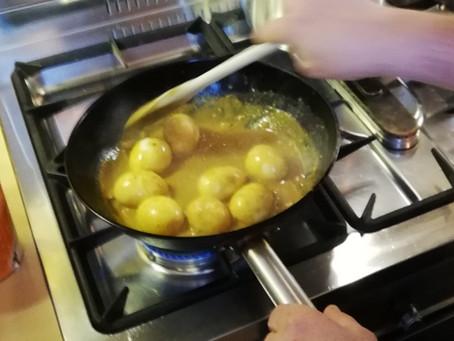 Indische Kerrie eieren