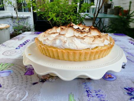 Citroen taartje, Tarte au citron