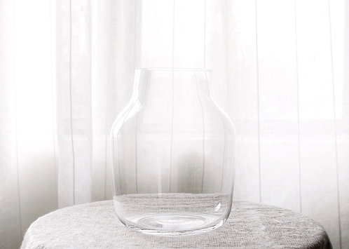 Glass Vase - Large | WILD TWELVE FLORISTRY