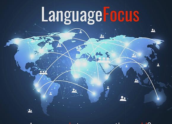 LANGUAGE FOCUS 30 INCONTRI IN VIDEOCONFERENCE DA MEZZORA CIASCUNO