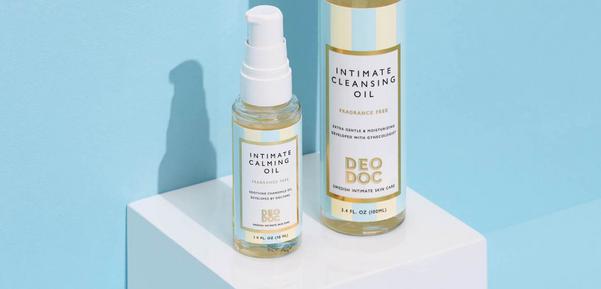 Swedish Brand Deodoc's Intimate Calming Oil