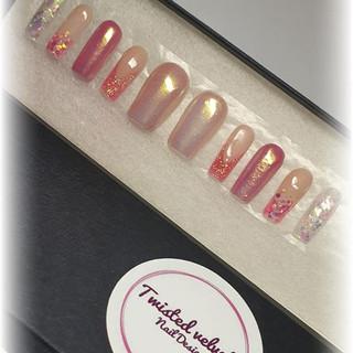 Pink blush glitter press on nails.jpg