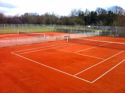 Tennis bane Søhøjlandet