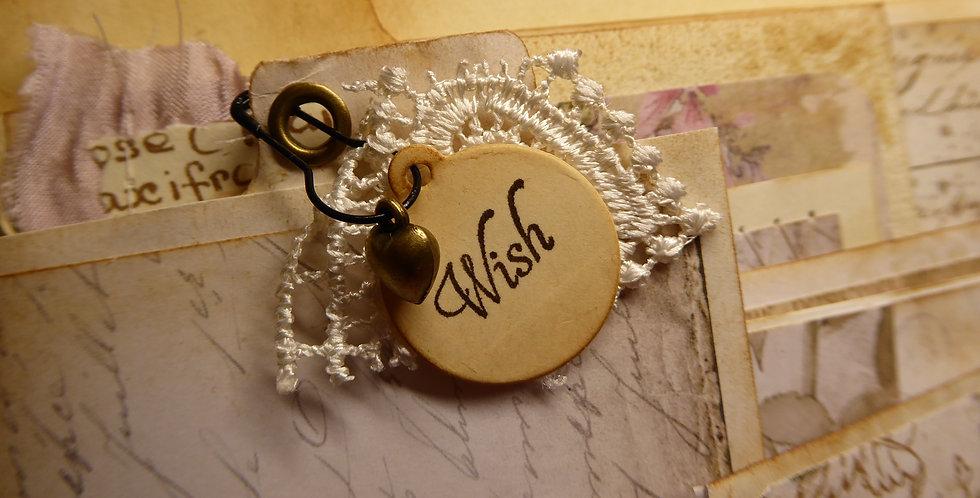 """Wish"" an Altered File Folder"