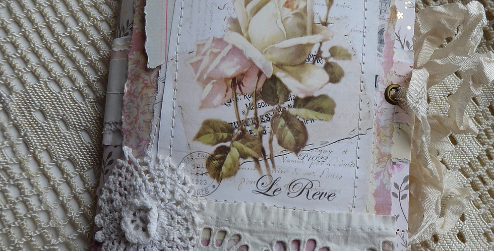Shabby Chic Traveler's Notebook style Journal