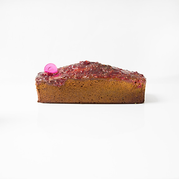 Cake Macha-Framboise