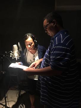 Kenny&Lampel rehearsing at the studio