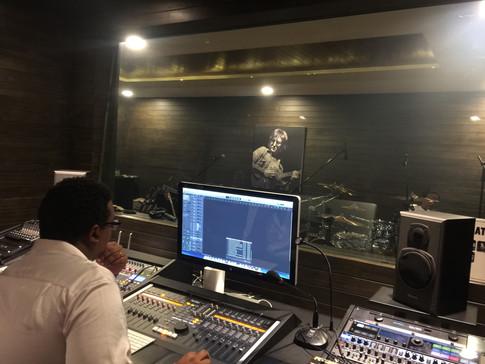 Kenny @recording studio