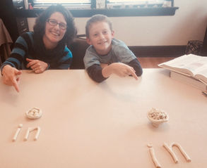 """""""I was impressed with how Rhonda brought everything together by the end of the week. I learned as much as my son did. I really enjoyed seeing and learning new ways to use the gift of my child's creativity."""""""