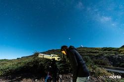 Observación de objetos celestes