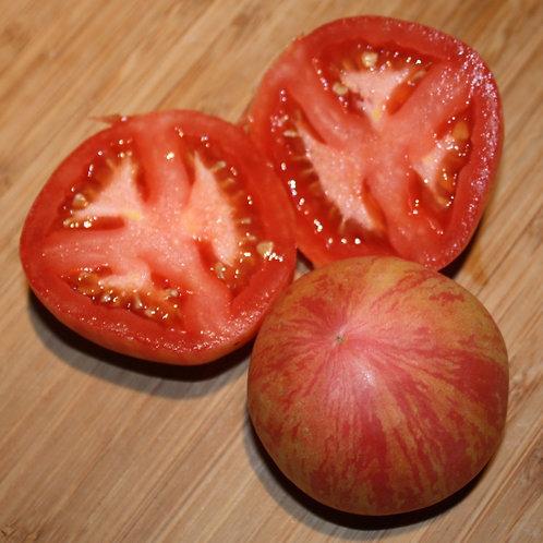 Полосатый красный кабан, Furry Red Boar Tomato - 5 шт