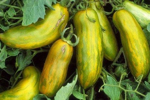 Сосиска зелёная, Green Sausage Tomato - 5 шт