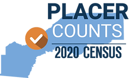 Placer Counts 2020 Census Campaign Logo