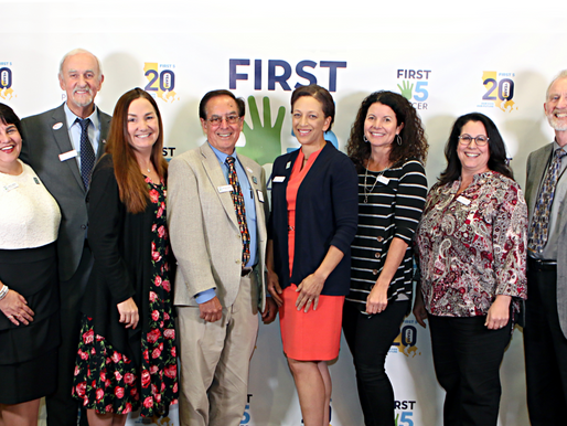 Dignitaries, Champions, and Leadership Honor First 5 20th Anniversary in Placer County