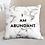 Thumbnail: I Am Abundant Double Sided Pillow