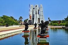 Kwame Nkrumah Memorial Park in Accra Ghana