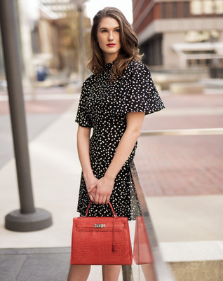 Fashion Model Morgan Furber