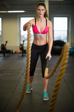 Athletic Model Morgan Furber
