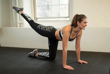 Fitness Model Morgan Furber