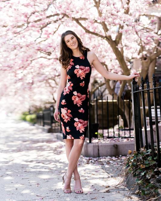 Commercial Fashion Model Morgan Furber