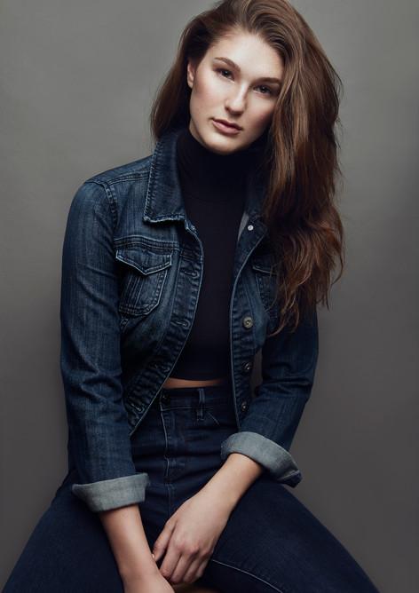 Model Morgan Furber