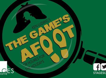 'The Game's Afoot' at STAGEStheatre