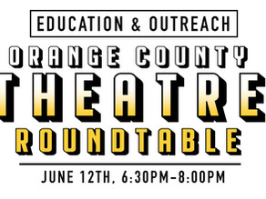 OC Theatre Guild Roundtable Conversation - Education and Outreach