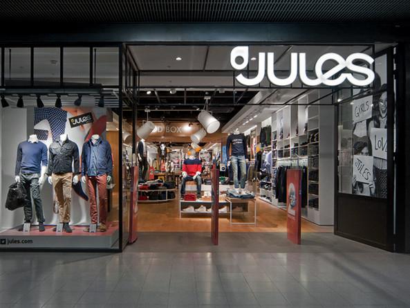Jules / Retail design et identité visuelle. 2014
