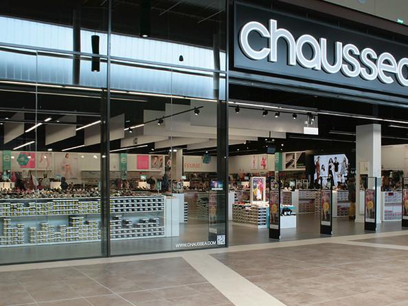 Chaussea / Retail design et identité visuelle. 2017