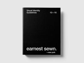 Earnest Swen / Création du  nouveau labelling  Earnest Sewn New York avec sa nouvelle charte graphique. 2016
