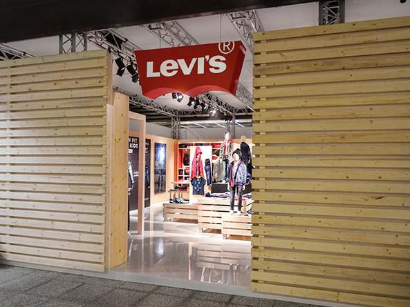 Levi's / Retail design - Salon Pitti Bimbo. 2016