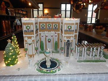 Fountain Gingerbread House