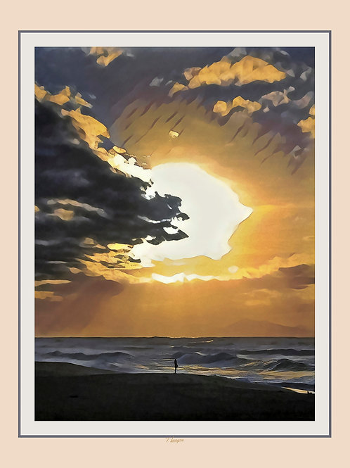 Couchant Solitaire - Sunset Alone