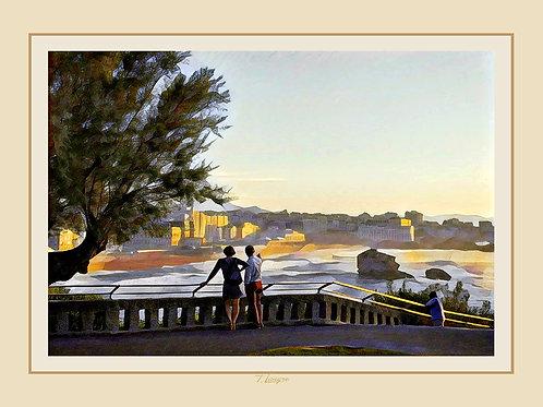 Vue de la Vue - View of the View