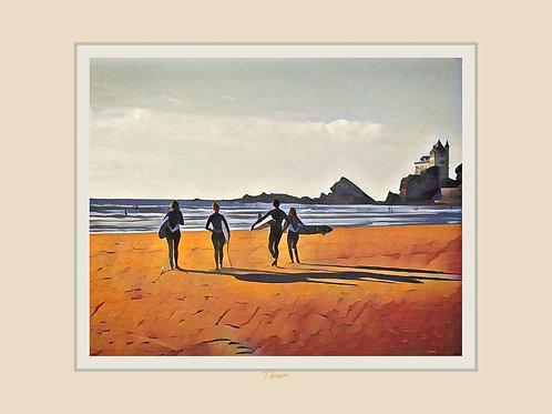 Surf à la Côte des Basques - Surf at the BasqueCoast