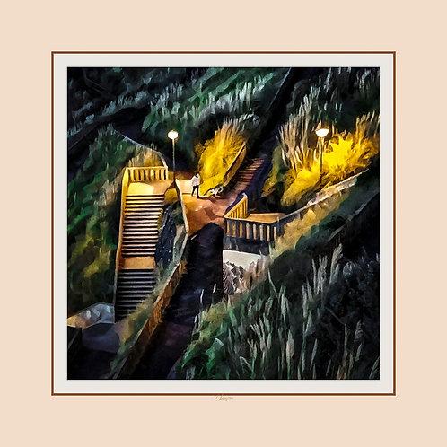 Les Cent Marches Dorées - The One Hundred Golden Steps