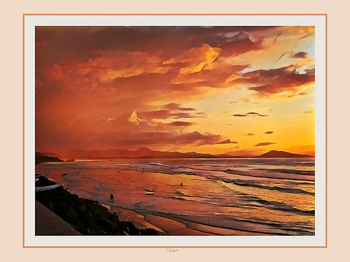 Couchant d'Or - Gold Sunset