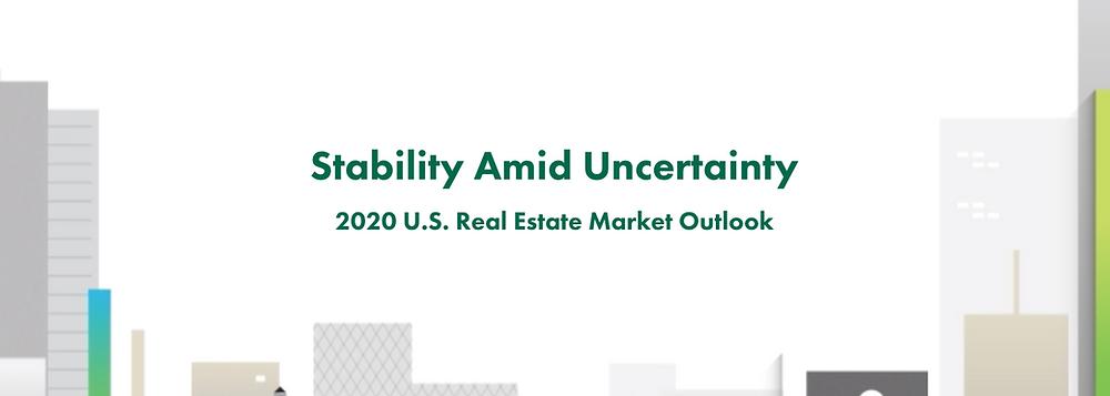 2020 U.S. Real Estate Market Outlook