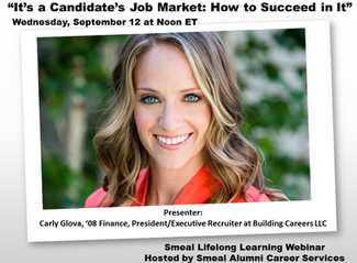 Webinar: It's a Candidate's Job Market: How to Succeed In It