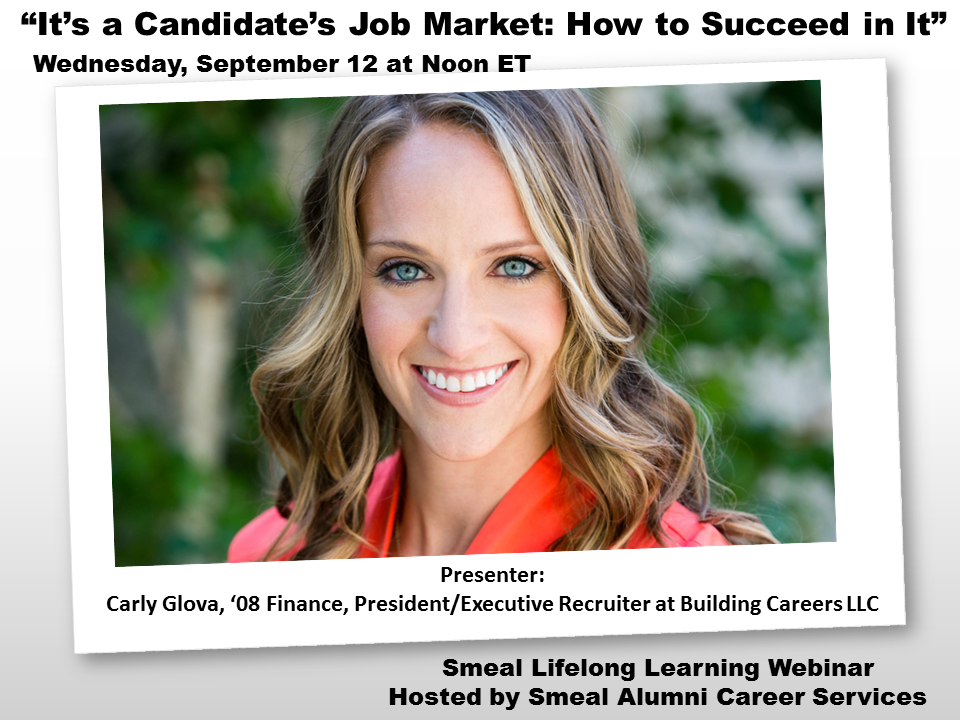 How to Succeed in a Candidate's Job Market